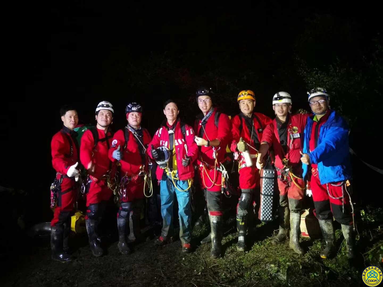 奥特多洞穴救援队参加中国洞穴救援联盟万丈坑洞穴救援演